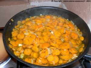 Couscous aux carottes étape 3