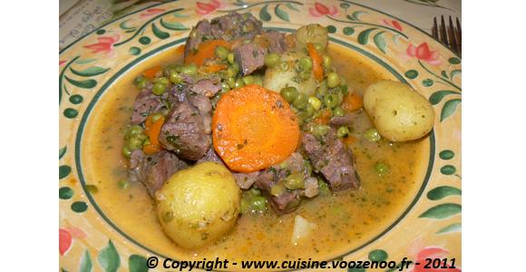 Saute de porc aux legumes printaniers slider
