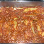 Lasagne de courgettes etape 6