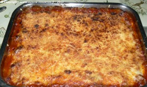 Lasagne de courgettes fin