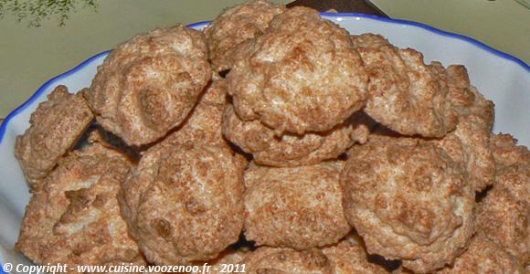 Mini-rochers à la noix de coco une