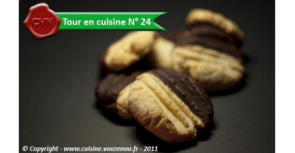 Petits sablés noix de coco chocolat_une
