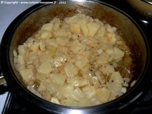Saute de joue de porc a l'ananas et noix de cajou etape1
