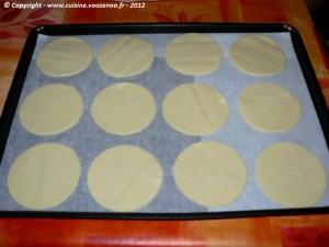 Sablés à la crème de citron etape3