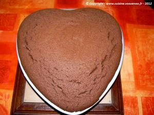 Coeur de chocolat etape6