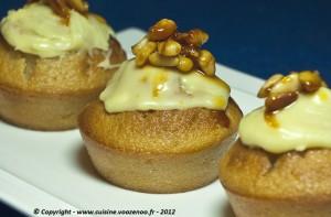Muffins au coca-cola presentation