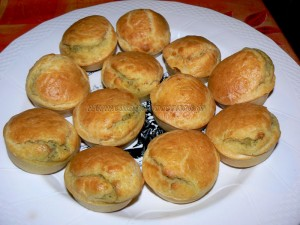 Muffins coeur d'artichaut et zestes de citron fin2