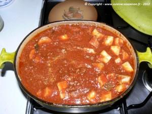 Sauce bolognaise etape3