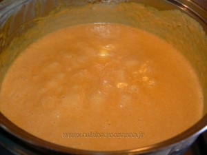 Spaghetti à la crème de poivrons rouges etape6