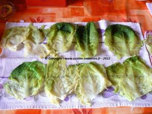 Ballotins de chou vert au reblochon sucré-salé une