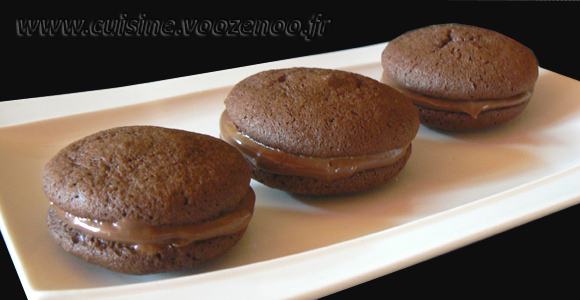 Whoopies nutella une