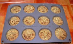 Bouchées aux flocons d'avoine et pommes fin