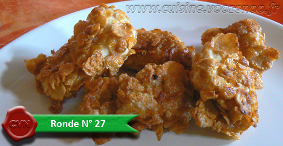 Nuggets de poulet Home Made une
