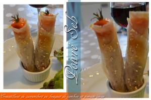 Croustillant de camembert par poivre seb