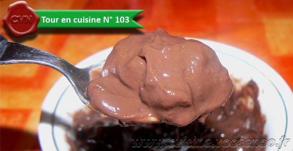 Crème au chocolat facon danette une