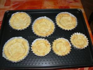 Tartelettes aux bananes et nutella etape2