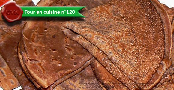 Pâte à crêpe au Nutella