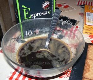 Gateau thé brun chocolat et café etape4