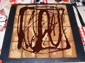 Gateau thé brun chocolat et café etape5