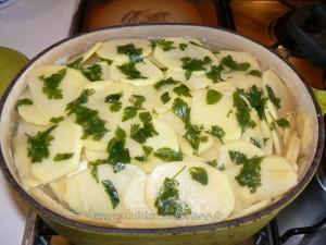 Pommes de terre confites etape6