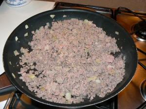 Gratin de crozet a la viande hachee etape2