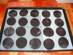 Biscuits façon oreo etape5