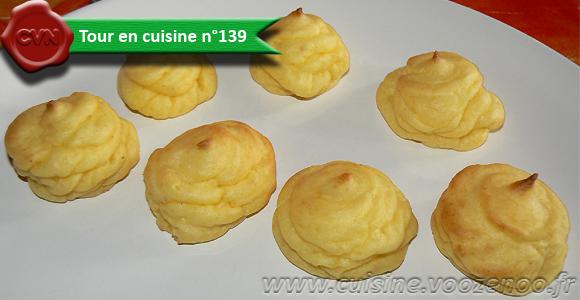 Pommes duchesses une