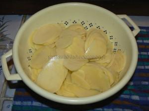 Millefeuilles de pommes de terre etape1