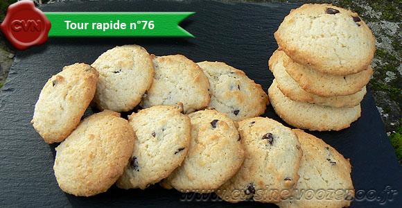 Cookies au chocolat et coco une