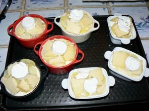 Gratin de pommes de terre aux deux fromages etape4