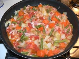 Tarte aux légumes etape2