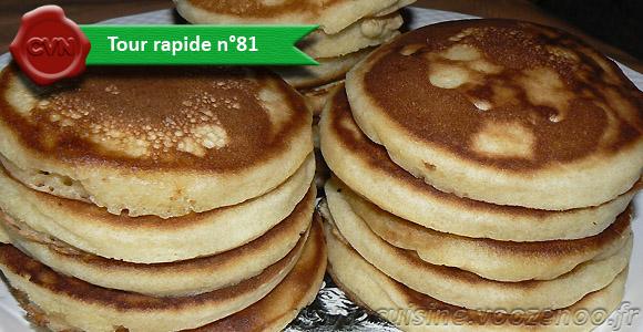 Pâte à pancakes une