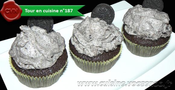 Cupcakes tout Oréo