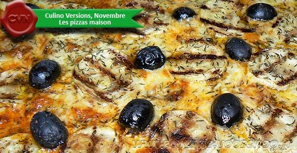 Pizza gourmande aux courgettes grillees une