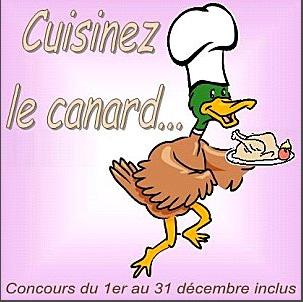 Chez «La serviette sur le table», concours de recettes «Cuisinez le canard»