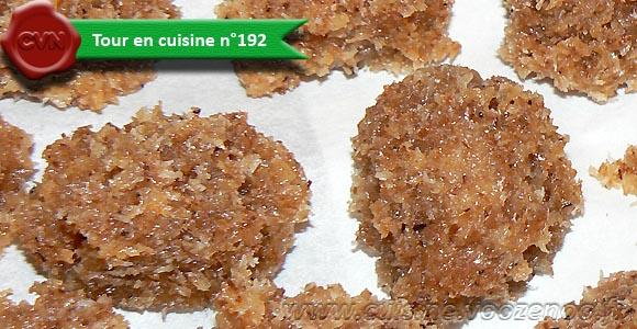 Palets philippins à la noix de coco une
