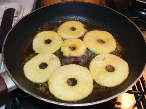 Crêpes aux pommes etape1