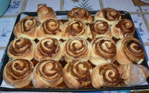 Cinnamon Rolls petits pains à la canelle etape9