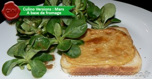 Welsh rarebit une