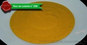 Veloute de carottes oriental une