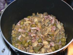 Paupiettes de veau aux olives etape1