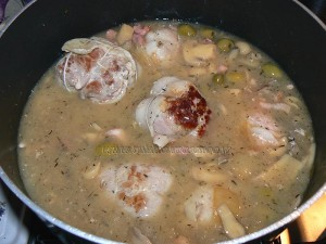 Paupiettes de veau aux olives etape2