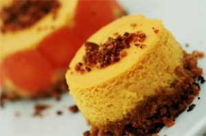 cheesecake sale au potiron et aus carottes