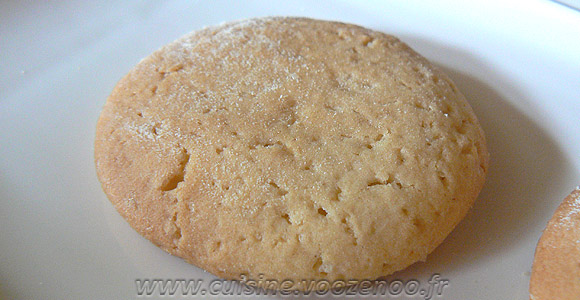 Biscuits croquants au sirop d'erable une