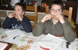 Cookies roses aux pralines de saint genix fin3