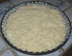 Galette salée au fromage de vache  etape4