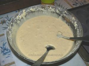 Muffins aux pommes caramelisées, beurre salé etape3