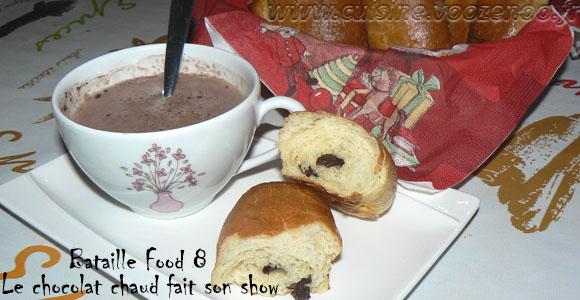 Pains au chocolat briochés #bataillefood8#