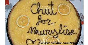 Tarte au citron de «Maurylise»