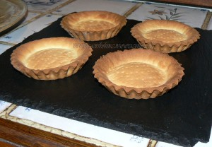 Tartelettes choco-coco, chantilly à la crème de coco etape2